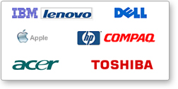 Original Strømforsyning adaptor til notebook bærbar fra HP, IBM, Liteon, Delta og andre kendte mærker