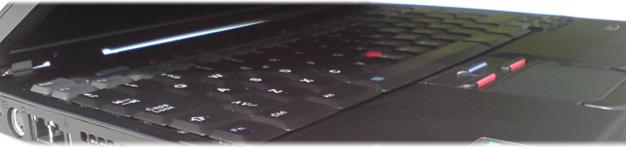 Tastatur til bærbar computer