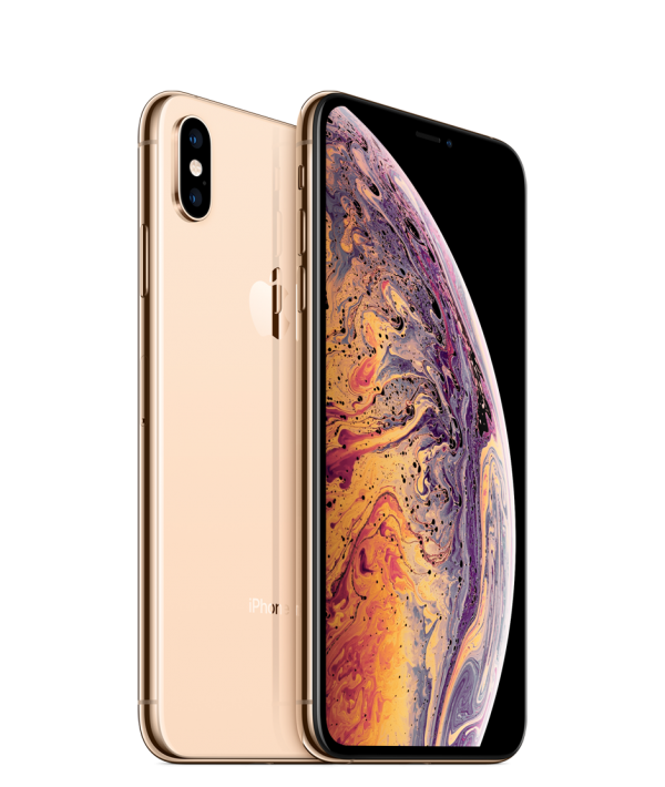 iPhone XS top