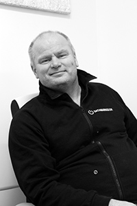 Peder Lisberg er ansvarlig for salg & support