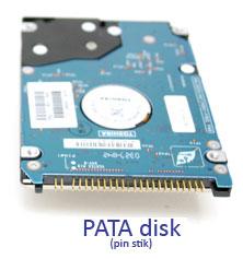 PATA harddisk til bærbar computer