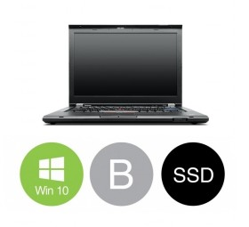 "Lenovo ThinkPad T420s Slim - Intel i5 2520M 2,5GHz 160GB SSD 8GB 14,1"" Win10 Pro - Grade B"