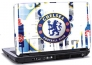 Laptop skin med Chelsea Football Club logo