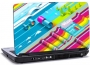 Laptop skin med teksten - Wave colours