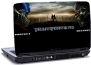 Laptop skin med Transformers teksten - Protect Destroy