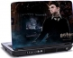 Laptop skin med Harry Potter og sort baggrund