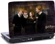 Laptop skin med Harry Potter og hans venner