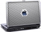 Laptop skin med Apple Mac logo