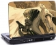 Laptop skin med tegneserie figurer, billed 3