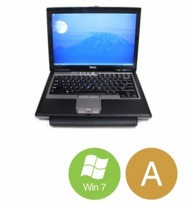 "Dell Latitude D630 - Intel 2 Duo T7250 1,8GHz 160GB HDD 2GB 14,1"" Win7 - Grade A"