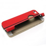 KAMPAGNE VARE, iPhone 5G/5s/SE Stand color Case - rød