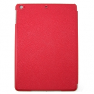 KAMPAGNE VARE, iPad air 5 Smart Flip Cross Line Smart Cover Case - rød