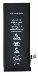 iPhone 6 3.82V 1810mAh Batteri - Grade A+