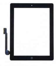 Kampagne vare, iPad 3 Digitizer Touch Skærm Assembly - Sort - Grade A+