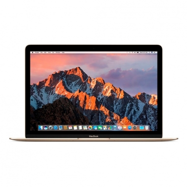"12"" Apple MacBook - Intel Core M 1,1GHz 256GB SSD 8GB (Early-2015) Guld - Grade B"